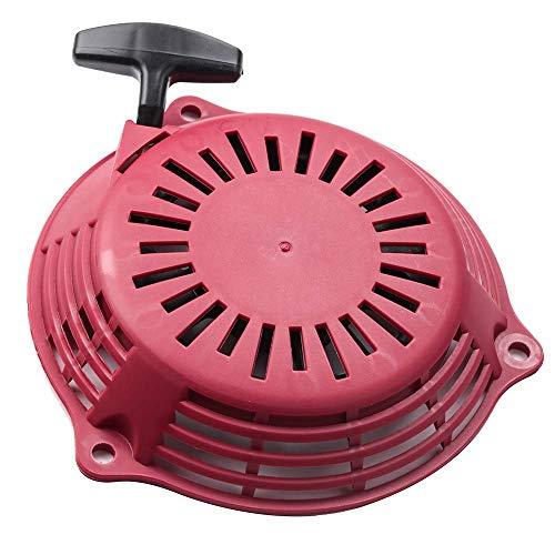 Aniro Motorrad-Zugstarter für Honda GC 130/160 GCV 130/160 4 PS 5 PS 6 PS 6,5 PS Rot