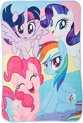 utong Hasbro My Little Pony Rainbow Darlings Manta Micro Raschel Manta Talla única