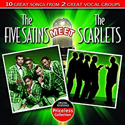 Five Satins Meet The Scarlets [Import USA]