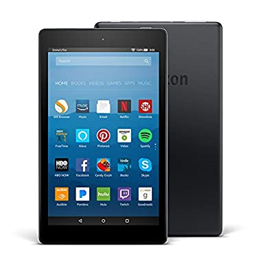 Certified Refurbished Fire HD 8 Tablet with Alexa, 8  HD Display, 16 GB, Black - with Special Offers