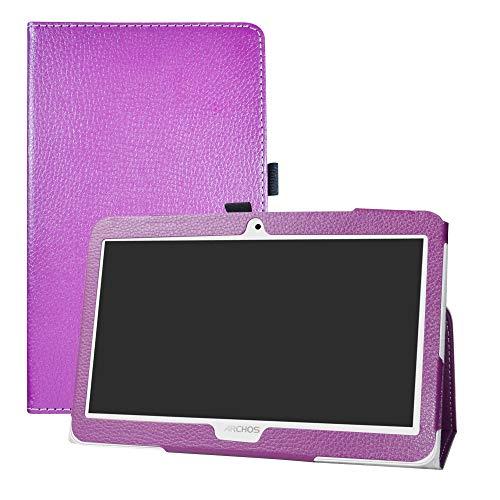 """LFDZ Archos Access 101 3G Coque, Slim Fit Housse Support Ultra-Mince et Léger Etui Cover pour 10.1"""" Archos Access 101 3G Tablet(Not fit Access 101 WiFi),Violet"""
