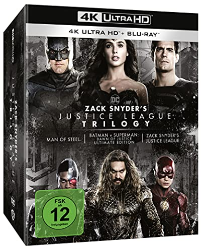 Zack Snyder's Justice League Trilogy - Ultimate Collector's Edition (4K UHD) [Blu-ray]
