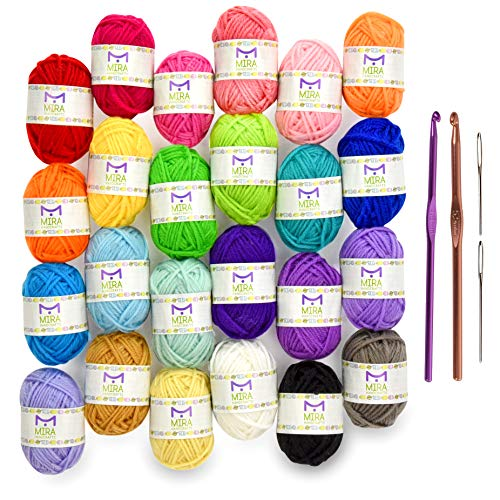 Mira Handcrafts Crochet Starter Kit