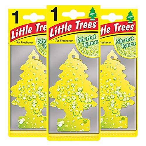 LITTLE TREES LTZ073 - Ambientador (3 Unidades, Fragancia de limón)