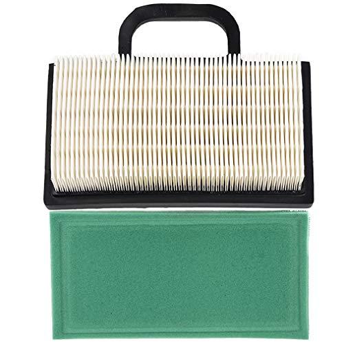 Carkio Luftfilter Vorfilter für John Deere D140 D130 L120 Z425 X130R X135R X140 X155R X165 L118 LA135 MIU11286 GY20575 Briggs & Stratton 499486 499486S Rasenmäher (1 Stück)