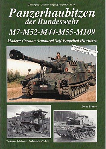 Tankograd 5026 - Panzerhaubitzen der Bundeswehr M7-M52-M44-M55-M109