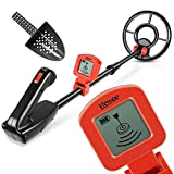 Viewee Lightweight Metal Detector for Kids and Beginners with Waterproof Search Coil