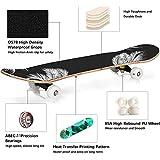 Zoom IMG-2 skateboard professionale completo 31x8 tavola