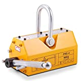 Happybuy Steel Magnetic Lifter 1320 LB Metal Lifting Magnet 600 KG Neodymium Magnetic Lift...