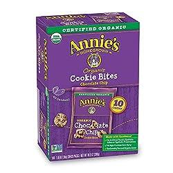 Annie's Organic Chocolate Chip Cookie Bites, 10 ct