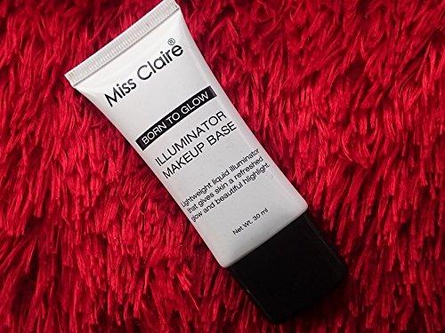 Miss Claire Illuminator Makeup Base 06 Shiny White, White, 30...