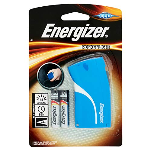 Energizer Taschenlampe Pocket LED (inkl. 3xAAA, 44 Lumen, 24m Reichweite)