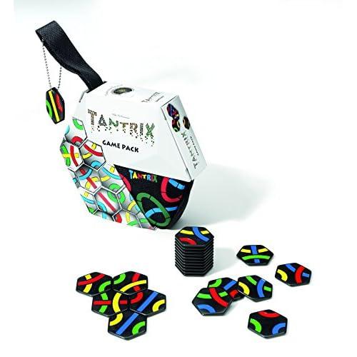Tantrix 53001 Game Pack, Puzzle tattico in Custodia con Chiusura Lampo, 1/4 Giocatori [Importato dalla Germania]