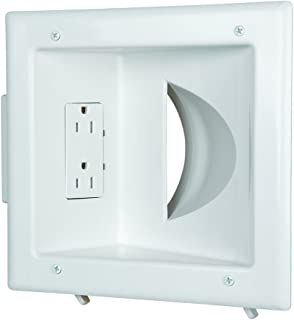 recessed power box