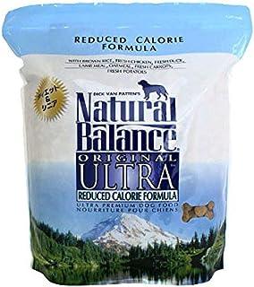 ナチュラルバランス ドッグフード リデュースカロリー グレインフリー シニア チキン 5ポンド(2.27kg)