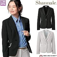 [神馬本店] 事務服 制服 シャンナーレ shannale ジャケット WN50J レディース 11号 2.ライトグレー