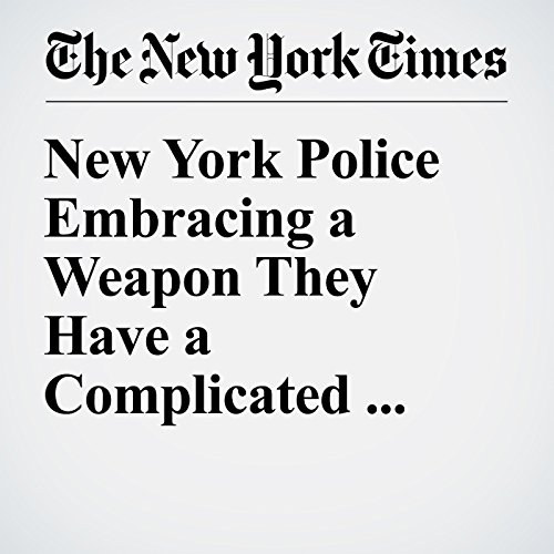 New York Police Embracing a Weapon They Have a Complicated past With: Tasers cover art