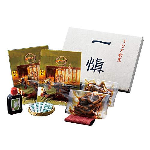 鰻肝煮 国産 うなぎ割烹「一愼」 きざみ鰻と肝の佃煮の詰合せ UIKK22