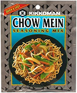 Kikkoman Chowmein Seasoning Mix, 1-Ounce Packages (Pack of 24)