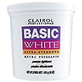 CLAIROL Professional Basic White Extra Strength Powder Lightener 1lb/454g