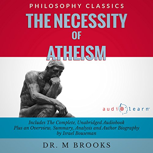 The Necessity of Atheism audiobook cover art