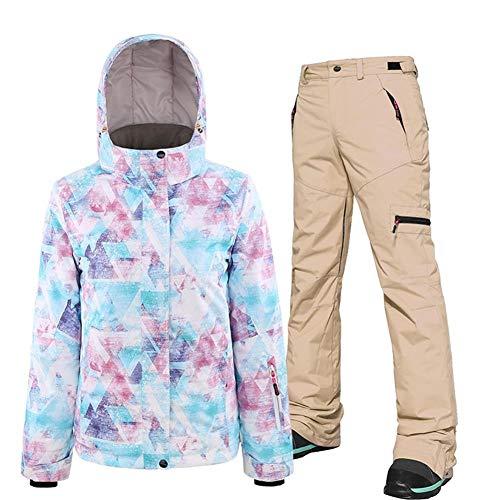 KIBILLL 2019 tweedehands snowboard pak dames skateboard pak waterdicht volwassen ski-jas en broek
