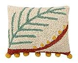 Lorena Canals Palm cojín, algodón, poliéster, Multicolor,