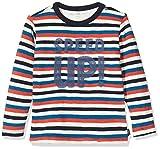 Noppies Baby-Jungen B Regular T-Shirt ls Apple Valley Y/D STR Langarmshirt, Mehrfarbig (Whisper White P198), (Herstellergröße: 62)
