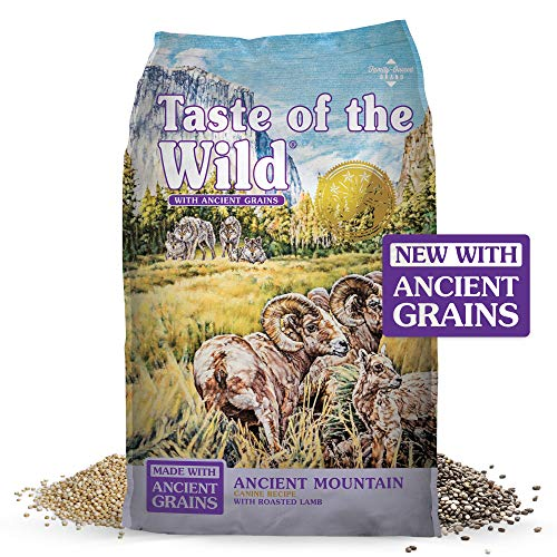 Taste of the Wild Ancient Mountain Canine Recipe with Roasted Lamb & Ancient Grains 28lb (9681)