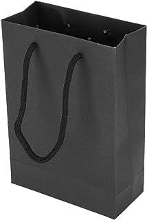 Handbag, Drawstring Gift Bag, Shopping Bags Bags, White/Black (Optional) Paper Tote Bag, for Store Festival Gift Candy Gif...