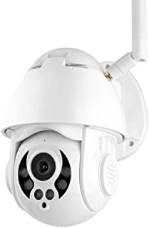 [2019 Updated] 1080P PTZ Wireless WiFi IP Camera Face Motion Detection Auto Tracking, Two-Way Audio 4X Digital Zoom Outdoor Security Night Vision