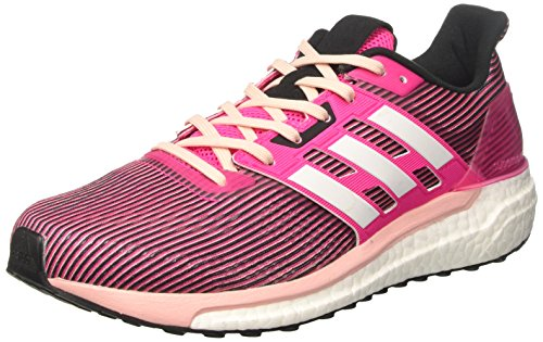 adidas Supernova, Zapatillas de Running para Mujer, Rosa (Shock Pink/Footwear White/Core Black), 38 2/3 EU