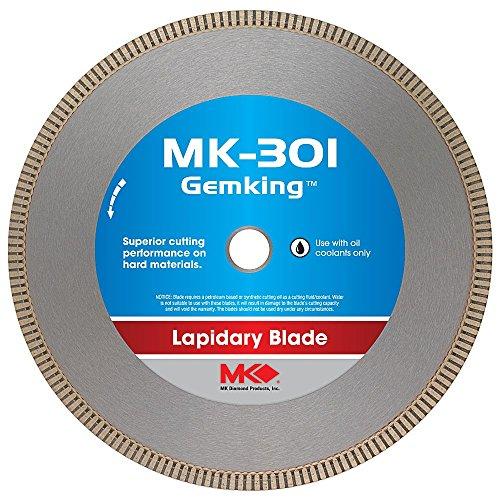MK Diamond 166070 MK-301 Gemking 14-Inch Lapidary Wet Cutting Diamond Blade