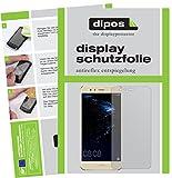 dipos I 2X Schutzfolie matt kompatibel mit Huawei P10 Lite Folie Bildschirmschutzfolie