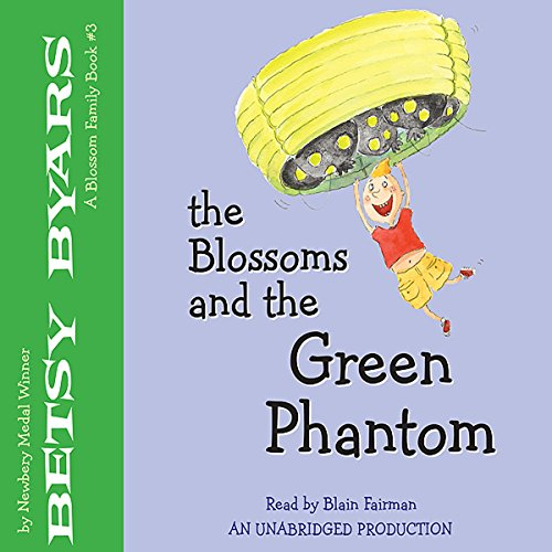 The Blossoms and the Green Phantom audiobook cover art