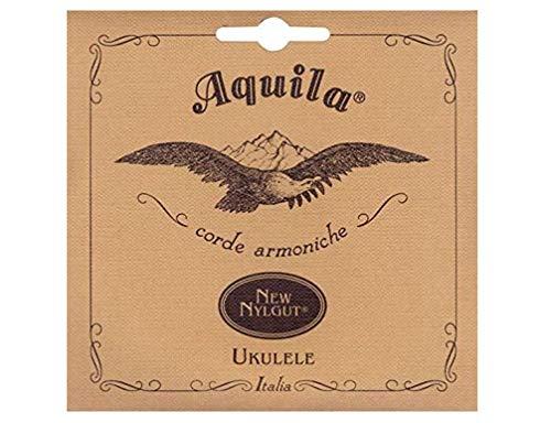 Aquila 23U - Juego de cuerdas para ukelele barítono en Sol, Do, Mi, La, 85 cm