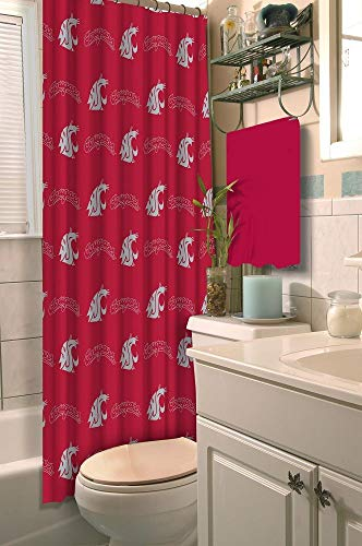 Washington State Cougars Shower Curtain, 72