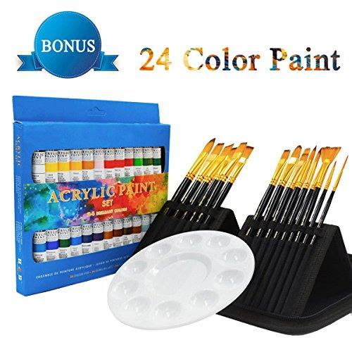 Skyolor 15 Premium Artist Acrylic Paint Brushes Se The Best