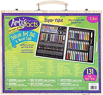 Darice (1103-10) 131-Piece Premium Art Set