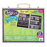 Product Image of the Darice (1103-10) 131-Piece Premium Art Set – Art Supplies for Drawing,...