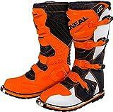 O'NEAL Rider MX Motocross Supermoto Motorrad Stiefel orange/weiß/schwarz 2020 Oneal: Größe: 11/45