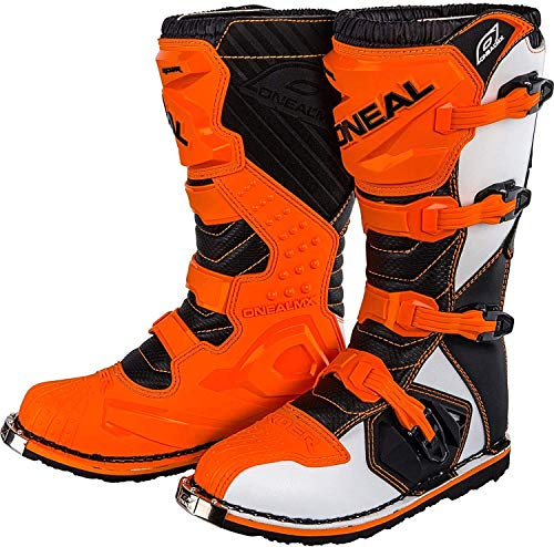 O'Neal Unisex Motocross Stiefel Rider Boot, Orange, 43, 0329-3
