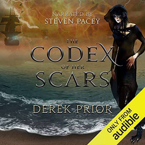 The Codex of Her Scars (Sorcerers' Isle, Book 1) cover art