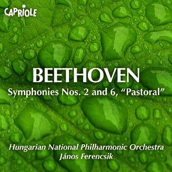 "Beethoven, L. Van: Symphonies Nos. 2 and 6, ""Pastorale"""