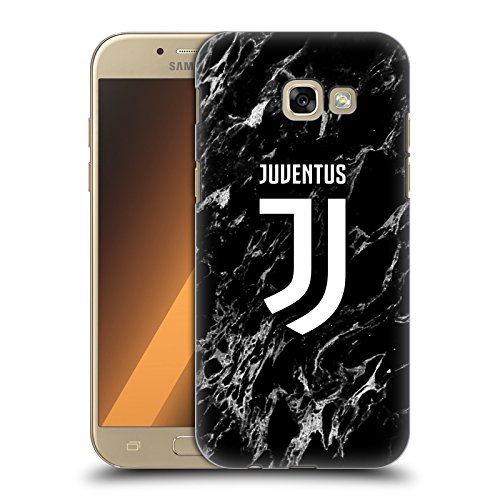 Head Case Designs Ufficiale Juventus Football Club Nero 2017/18 Marmoreo Cover Dura per Parte Posteriore Compatibile con Samsung Galaxy A5 (2017)