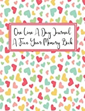 One Line a Day Journal - A Five Year Memory Book: Five Years of Memories 8.5x11 Diary, Dated and Lined Notebook - Unicorn Paper Cover