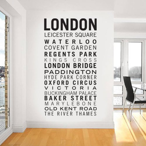 Wall Art Sticker Decal Mural Text Quote...