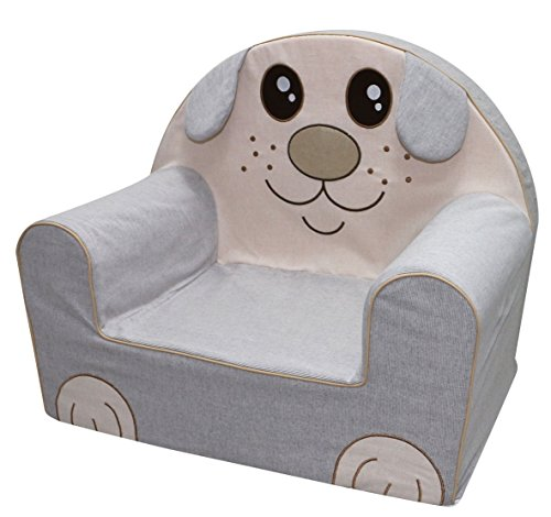 Bubaba Silla para bebé en 12 motivos, goma espuma rígida - extra-ligero, apenas 1kg - Producto de la UE, Model:Funny Puppy