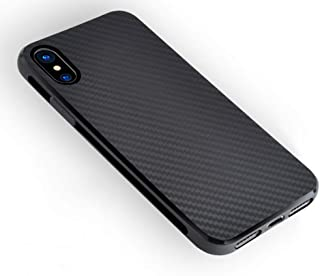 Cell Phone Case, Soft TPU Silicone Shell Carbon Fiber Texture Design Shockproof Cover Slim Fit Shell Case Compatible with IPMAX