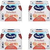 Ocean Spray Fruit Juice, Ruby Red Grapefruit, 10 Fl Oz, 6 Count (4 Pack)